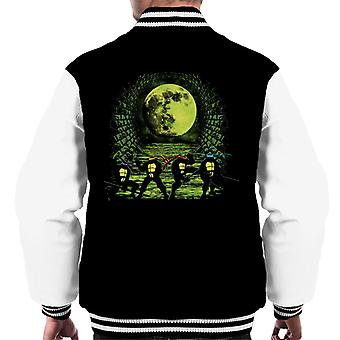 TMNT Sewer Surfing Men's Varsity Jacket