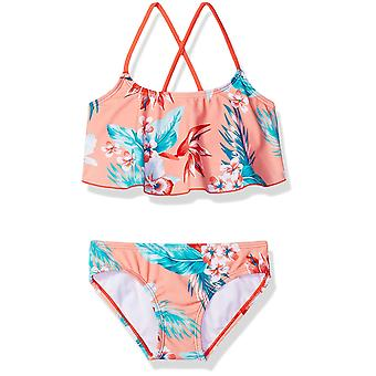 Kanu Surf Big Girls' Alania Flounce Bikini Beach Sport 2-Piece Swimsuit, Chlo...