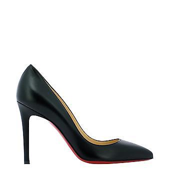 Christian Louboutin 3160520bk01 Dames's Black Leather Pumps