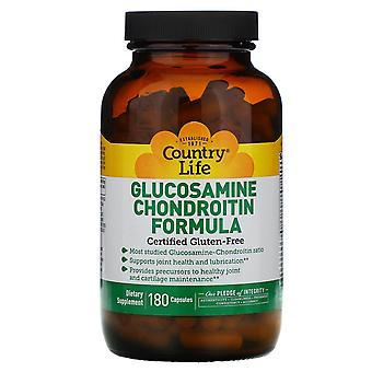 Vita di campagna, Glucosamine Chondroitin Formula, 180 Capsule