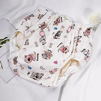 S Size Adult Diaper - Cute Dog Design Incontinence Pants For Adults