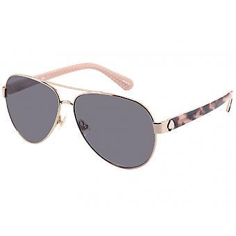 Sonnenbrille Damen  Genf   Gold/Havanna-Rosa