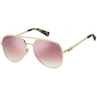 Sunglasses women pilot 'Daisy' gold/pink gradient