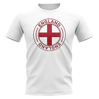 England Football Badge T-Shirt (White)