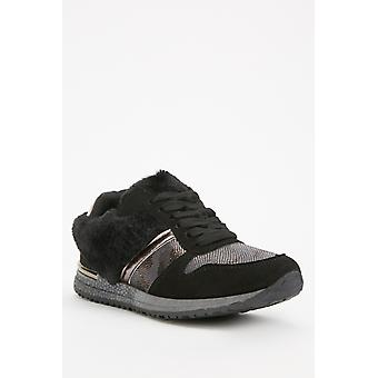 Contrasted Low Top Trainers 679781