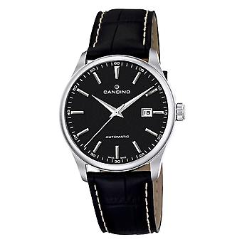 Candino C4458-3 Men's Black Dial Automatic Wristwatch