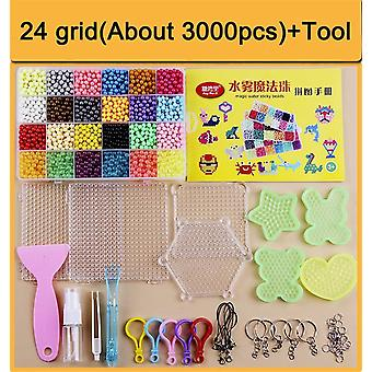 Enfants Diy Magic Water Sticky Beads - Spray Puzzle