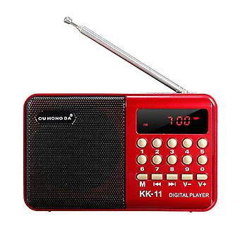 Mini portatile handheld K11 Radio Multifunzionale Digitale Fm Usb Tf Mp3 Player