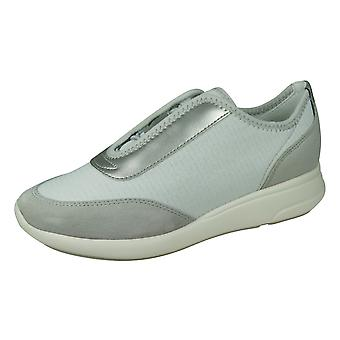 Geox D Ophira A Womens Trainers - Gris clair