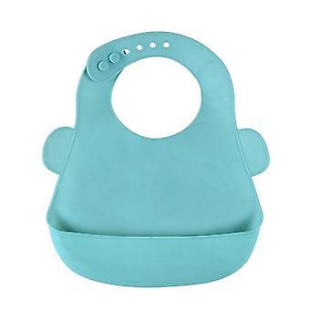 Baby Bibs Waterproof Silicone Alimentation Salive Serviette Tabliers de dessin animé nouveau-né
