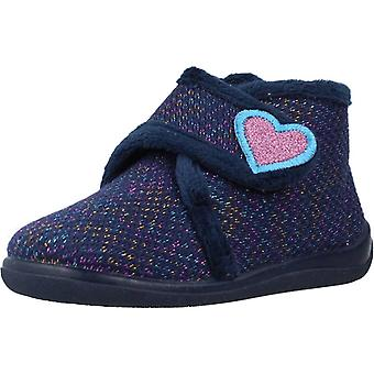 Sparks Shoes Girl Home 58610177 Navy Color