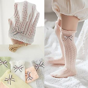 Newborn Baby Socks, Breathable Mesh, Socks Knee High