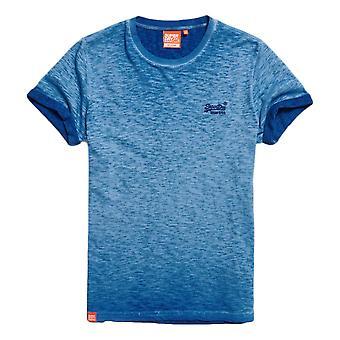 Superdry Organic Cotton Low Roller T-SShirt - True Blue