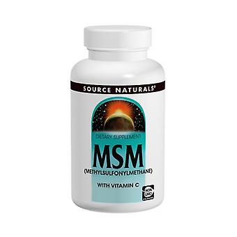 Source Naturals MSM with Vitamin C, 4 oz