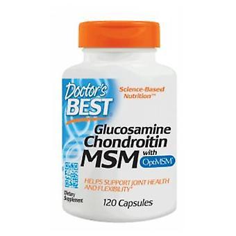 Doctors Best Glucosamine Chondroitin OptiMSM, 120 Caps
