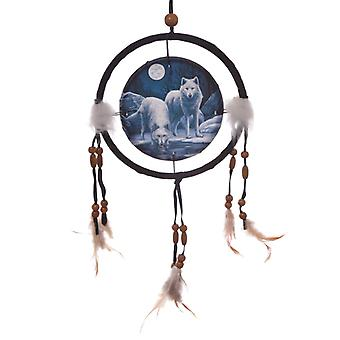 Decorative Wolf Warriors of Winter 16cm Dreamcatcher