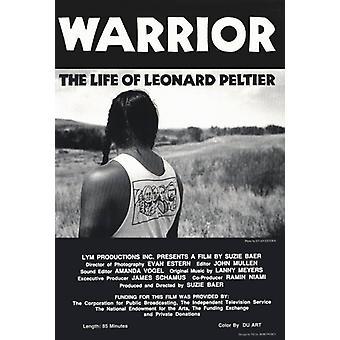 レナード ・ ペルチェ映画ポスター印刷 (27 × 40) の戦士の生命