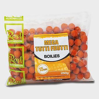 New R Hutchinson Mega Tutti Frutti Boilies 15mm (250g) Orange