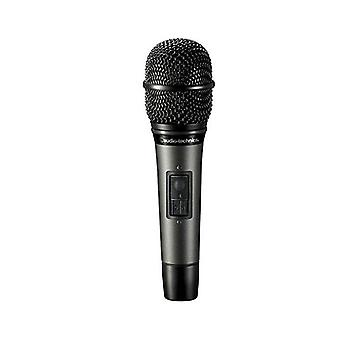 Audio-technica hypercardioid dynamic handheld microphone with switch atm610a