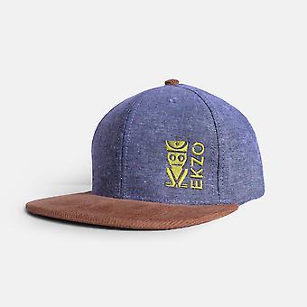 Kordbársony hímzés farmer kalap