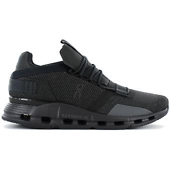 ON Running Cloudnova - Men's Running Shoes Black 26.99822 Sneakers Sports Shoes