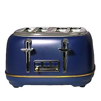 Daewoo Blau Astoria 4 Scheibe Toaster