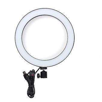 Photographic Lighting Usb Charge Led Selfie Ring Lens, Fill Light 3 Adjustable