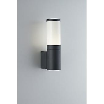 Outdoor LED modern wandlicht, antraciet, IP54, 4000K