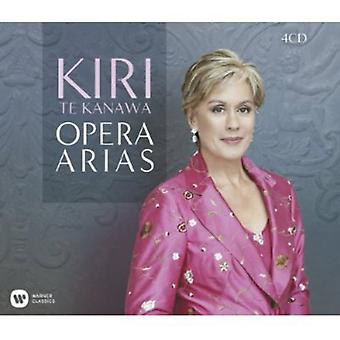 Puccini/Charpentier/Debussy/Berlioz/Massenet/Offen - Kiri Te Kanawa: Opera Arias [CD] USA import