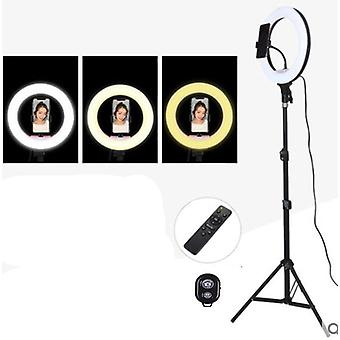 Selfie Ring Light With Phone Camera Holder