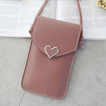 Mobile Phone Case Bag, Women Bags Pu Leather, Cell Phone Cover, Shoulder Purse