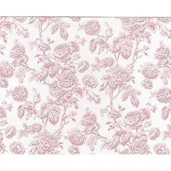 Nuket Talo Tiffany Rose Miniature Print Taustakuva 3 arkkia