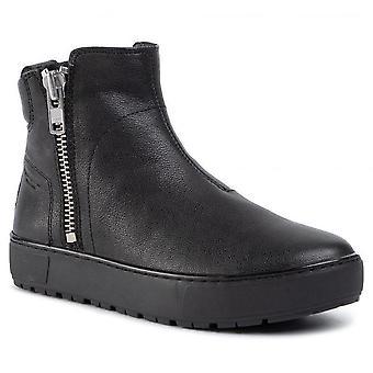 Vagabond bree black booties womens black 002