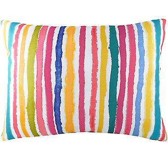 Evans Lichfield Aquarelle Striped Cushion Cover