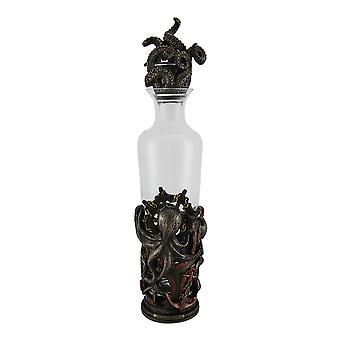 High Seas Spirit Nautical Steampunk Octopus Glass Spirit Decanter