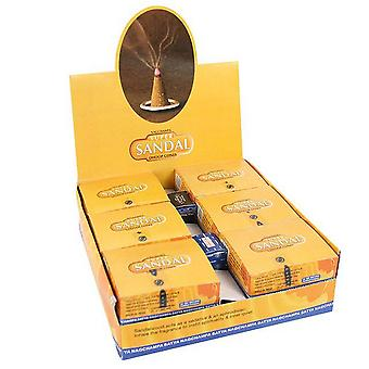 Something Different Satya Sandal Dhoop Incense Cones (Box Of 12)