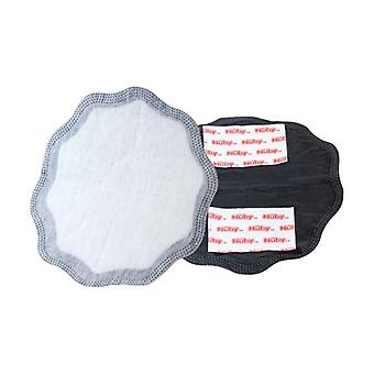 Breastfeeding compresses for the day - 28 black pieces and 2 white pieces 30 units