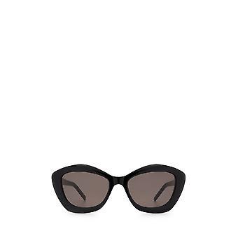Saint Laurent SL 68 svarta kvinnliga solglasögon