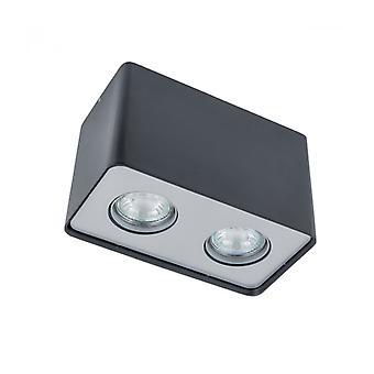 Lámpara De Techo Spot Moderna Harris Noir