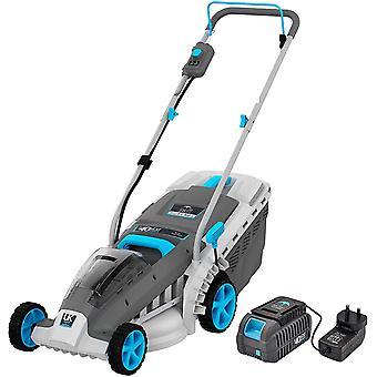 (standard kit) Swift 40V 37cm Cordless Battery Lawn Mower