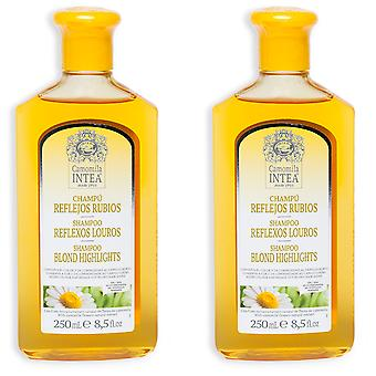 Camomila Intea Shampooing Camomille Reflexes Rubios Pack 2 pièces