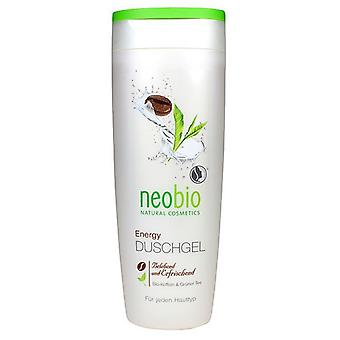 Neobio Energie-Duschgel Koffein & Neobio Grüner Tee