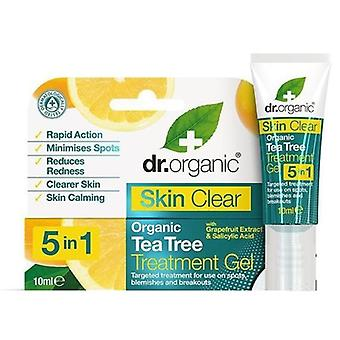 Dr. Organic Skin Clear Tratamiento en Gel 5 in 1 10 ml