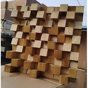 Solid Wood Full-frequency Diffuser Acoustic Secondary Sound Absorption Trap