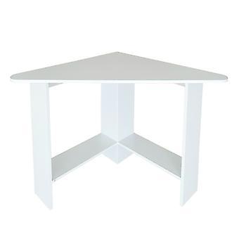 Hoek bureautafel - wit hout - 98x72-72x74 cm