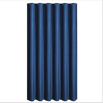 Home Textile Shower Curtain Thick Waterproof Solid Color Shower Curtain Toilet Bathroom Hotel Shower Curtain