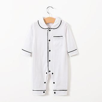 Infant Baby Clothing, Full Sleeve, Solid Rompers, Cotton Sleepwear, Toddler,