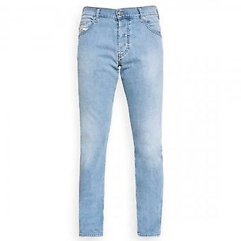 Diesel D-Yennox Stretch Washed Light Blue Tapered Jeans 009NX