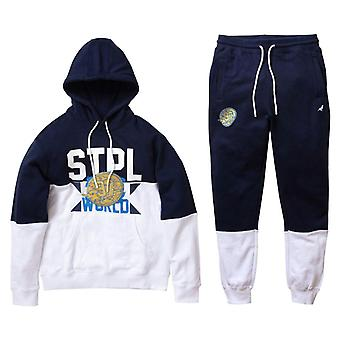 Staple Pigeon Gold Medal Tracksuit Navy Blue
