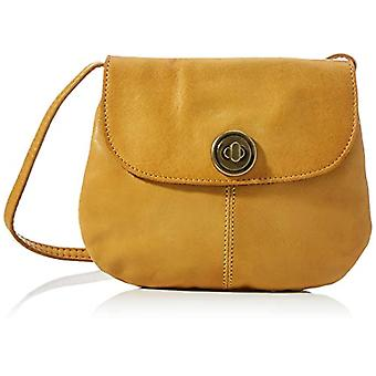 PIECES PCTOTALLY Royal Leather Party Bag Noos, Shopper. Woman, Golden Nugget Details: CP, One Size